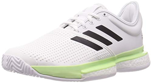 Adidas Solecourt M, Zapatillas de Tenis Hombre, Multicolor (Ftwbla/Negbás/Verbri 000), 48 EU ⭐