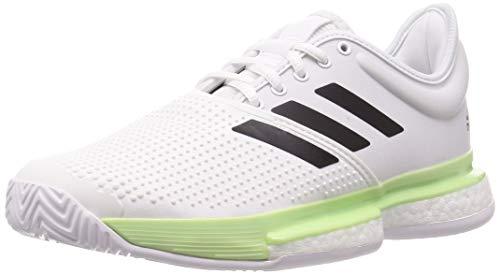 Adidas Solecourt M, Zapatillas de Tenis Hombre, Multicolor (Ftwbla/Negbás/Verbri 000), 48 EU