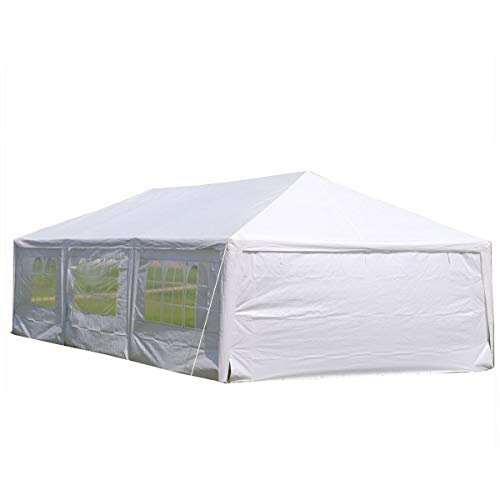 DELTA Canopies 15'x30' Wedding Party Tent Gazebo Canopy Shelter White