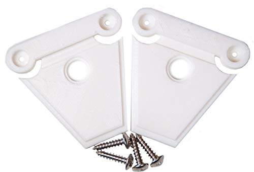 NeverBreak Igloo Cooler Latch Replacement | High Strength Igloo Cooler Replacement Parts | Set of 2 Cooler Latches