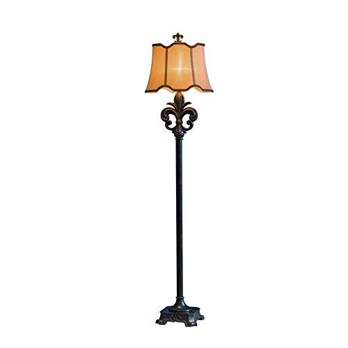 MEHE@ mode personnalité créatif Lampe de résine de style rétro style américain Lampe de plancher E27 Lampadaires