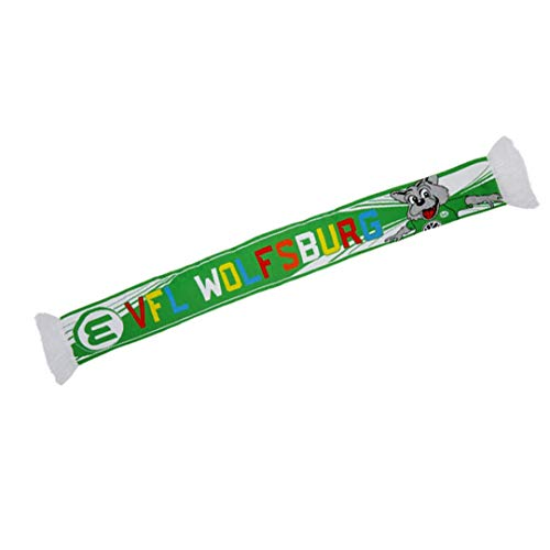 VfL Wolfsburg Wölfi KIDS Fanschal Schal (one size, Grün)