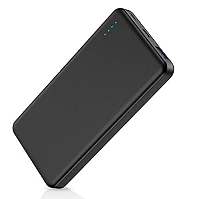 Power Bank, FKANT 10000 mAh QC3.0 Small Portable Phone Charger with USB-C Dual Output Input Fast Charging PD Port External Battery for iPhone iPad Samsung Android Tablet PSP Camera