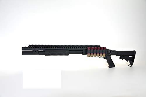 GOLDEN EAGLE Escopeta Gas M870 RIS Color Negro
