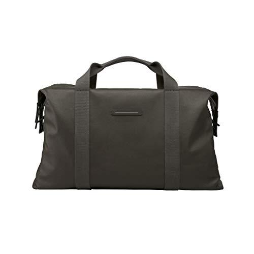HORIZN STUDIOS SoFo Weekender | Premium Travel Bag | Waxed Canvas (Taupe)