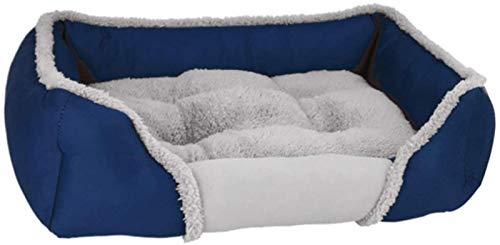 Cama de perro de lujo cama cama de perro perro cama cama cachorro sofá con cojín reversible cesta perro lavable a máquina colchón para perro mediano grande