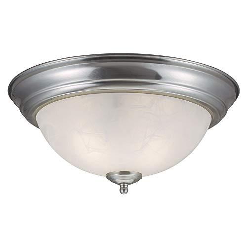 Design House Millbridge 2-Light Satin Nickel Ceiling Light