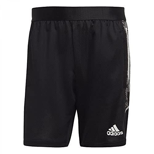 adidas Condivo 21 Training Short Pantalones Cortos, Blanco/Negro, Extra-Small para Hombre