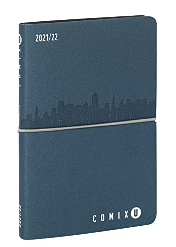 Comix - Diario 2021/2022 13 Mesi Settimanale - Comix u younivercity Blu Petrolio - Medium