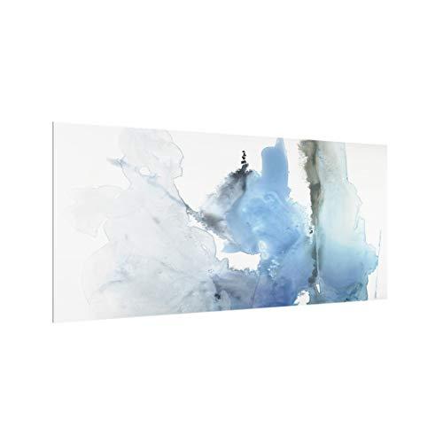 Panel antisalpicaduras de Cristal - Melting Glaciers Respaldo de Cocina 40x80cm