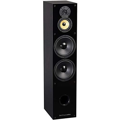 Davis Acoustics Balthus 90Esche Schwarz Paar Lautsprecher Spalten