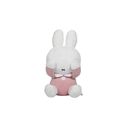 Tiamo NIJN601 Miffy Hase Cord Guck-Guck Stofftier Kuscheltier rosa 28 cm