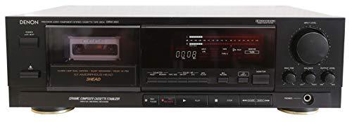 DENON DRM-800 HighEnd Cassette-Deck TAPEDECK mit 3Köpfen 3Motoren Closed-Loop Dual-Capstan