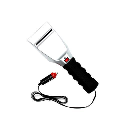 LiveGo 12 V elektrisch beheizter Auto-Eiskratzer Auto Zigarettenanzünder Schnee Schaufel Windschutzscheibe Glas Abtauen Reinigen Werkzeug