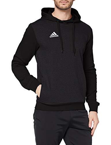 adidas Herren Tiro17 Kapuzensweatshirt, Schwarz (black melange/White), M