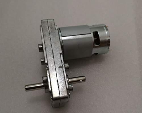 zxxin-motores dc, FC-755/775 Reducer engranaje DC motor, motor cuadrado de doble eje, aplicación de diseño industrial, 3V 30V 6V 12V 24V, Duradero ( Speed(RPM) : CHOOSE OTHER SPEED , Voltage(V) : 6V )