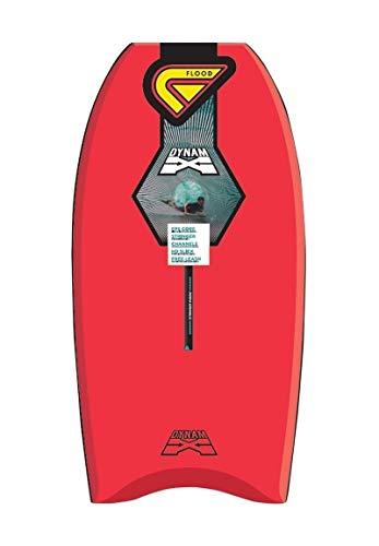 Flood Dynamx Stringer - Tabla de bodyboard, color rojo