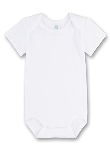 Sanetta 308200 Unisex - Baby Baby - Robe - Mixte bébé - Blanc (Weiss) - 3 Ans (Taille Fabricant: 98)