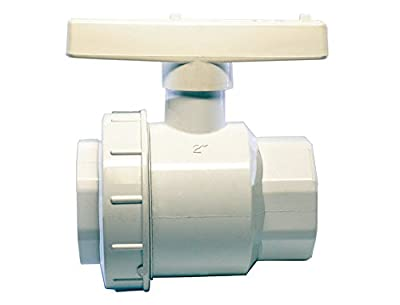 "American Valve P200SUE 2"" PVC Single Union Ball Valve Schedule 40 Socket, 2-Inch by American Valve"
