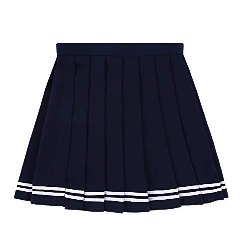dPois Jupe Plissé Japonaise Femme Fille Uniformes...