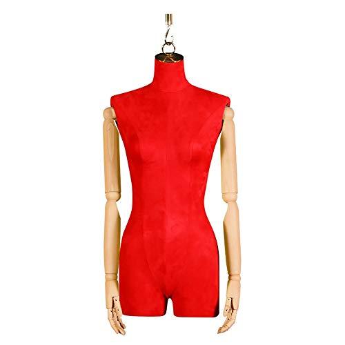 TQJ Maniquies para Costura Mujer Confección maniquí colgado Display Maniquíes Moda Maniquies Escaparate (Color : #2)