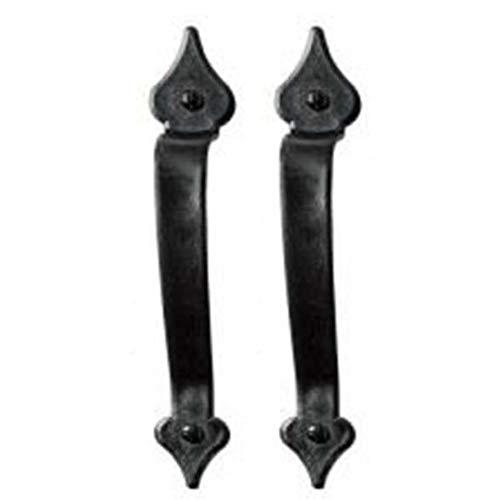 Save %8 Now! Garage Door Premium Hardware Magnetic Decorative Spade Handle Set