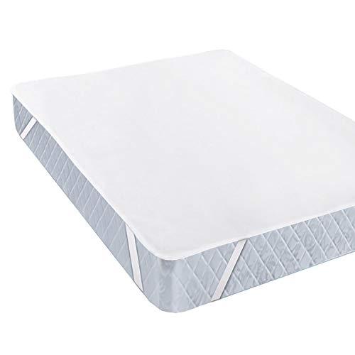 Aishces Matratzenschoner Wasserdicht 160 x 200 cm Atmungsaktive Matratzenauflage, Baumwolle, Anti-Allergie Matratzenschutz