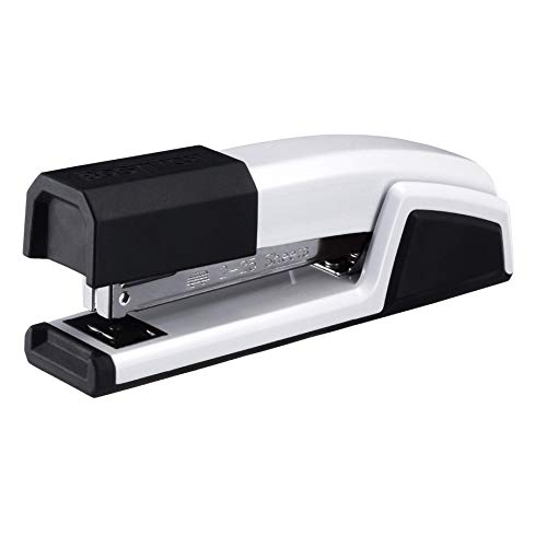 Bostitch Epic All Metal 3 in 1 Stapler with Integrated Remover & Staple Storage, White (B777-WHT)