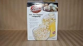 Orville Redenbacher's Gourmet Popping Corn Hot Air Popcorn Popper by Presto model # 04842