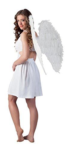 Boland 52802 - Engelsflügel, Circa 87 x 72 cm, Einheitsgröße, weiß