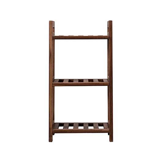 JCNFA planken kleine boekenkast plank, DIY Open Boekenplank, Home Verbetering Gereedschap Houder, Office Boekenplank, Eiken/Zwart Walnoot