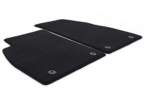 kh Teile Fußmatten Insignia A Velours Automatten Original Qualität 2-teilig vorn schwarz