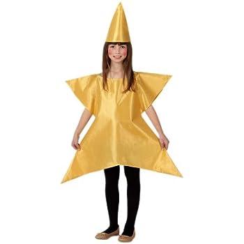 Atosa - Disfraz de estrella para niña, talla 3-4 años ...