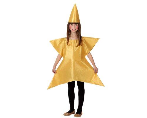 Atosa - Disfraz de estrella para niña, talla 5-6 años (8422259172666)