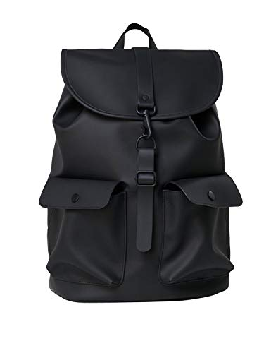 RAINS Camp Uomo Backpack Nero