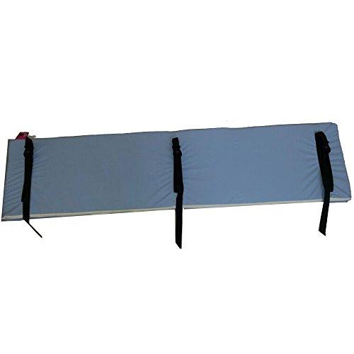 Protector de barandilla Barandex M-2 | Medidas: 140 x 35 cm | Cierre con clip | Material acolchado, impermeable y antialérgico