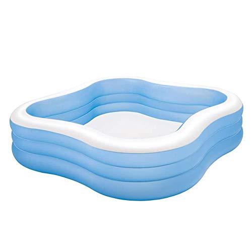 Opblaasbaar Zwembad Voor Kinderen, Opblaasbaar Zwembad, Dik Overdekt Babyzwembad, Opblaasbaar Boven De Grond, Dik Slijtvast Marineballenbad, Voor Kinderen, Volwassenen