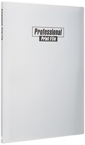 FUJICOLOR ポケットアルバム プロフェッショナルプリントファイル A3 ・ A3ノビ 40枚収納 205101 グレー
