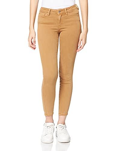 TOM TAILOR Denim 1028182 Jona Extra Skinny Jeans, 27474-Soft Camel, 32 Donna