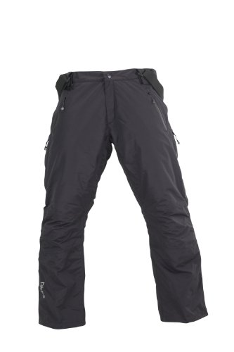 Fifty Five Skihose Herren Laval Schwarz Black 52 Thermohose Wasserdicht Winddicht Atmungsaktiv