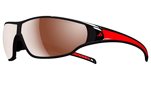 adidas Eyewear–TYCANE S Polarized Marrã³ n, Rot,