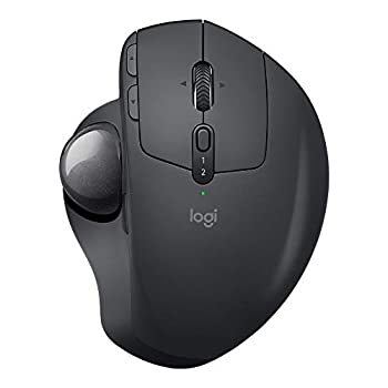 logitech MX ERGO Advanced Wireless Trackball for Windows PC and Mac  Renewed