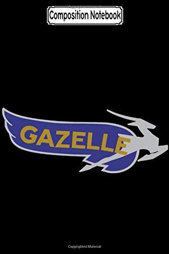 Composition Notebook: Gazelle Motorcycle Emblem Biker Motorcycles Notebook