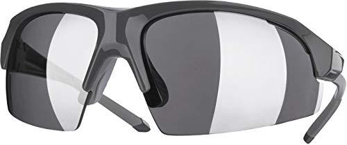 Crivit® Sport-Sonnenbrille, Halbrand (SP-1484, anthrazit glänzend)