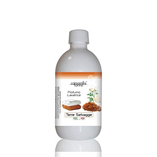 Parfüm für die Waschmaschine, Duft für die Waschmaschine, 500 ml, Wäscheduft, Wäscheparfüm, Made in Italy (Terre Selvagge)