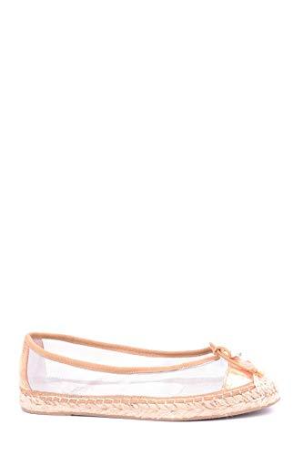 RAS Luxury Fashion Damen MCBI16435 Gold Stoff Ballerinas | Jahreszeit Outlet