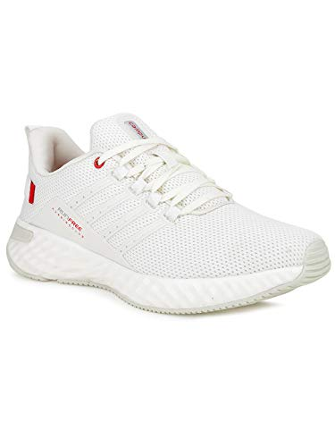 Campus Men's Oslo PRO Off WHT/RED Running Shoes