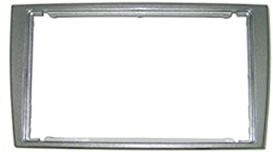 Autoleads DFP-04-06/ S - Marco embellecedor Doble DIN para Radio de Coche (Peugeot 308), Color Plateado