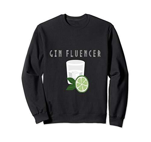 Gin lover |Ginfluencer Cocktail Gin Tonic Wacholder Schnaps Sweatshirt