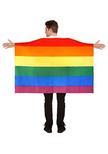 Unbekannt Flagge Fahne Regenbogen Schwul CSD Pride LGBT - Lesben - Bisexuell - Pansexuell - Transgender - Asexuell - Nicht Binär - 150x90cm - vertrieb durch ABAV (1x Schwul ZFLAG 001)